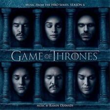 GAME OF THRONES SEASON 6 SOUNDTRACK Ramin Djawadi CD NEW