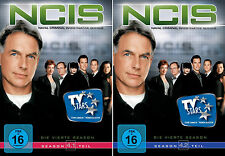 6 DVDs * NCIS -  STAFFEL / SEASON 4 ( 4.1 - 4.2 ) IM SET - NAVY # NEU OVP +