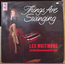 LES WHITMORE HAMMOND ORGAN THINGS ARE SWINGING SEXY COVER UK PRESS LP REGAL 1966