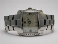 BAUME & MERCIER DIAMOND HAMPTON SPIRIT STYLE 8515 QUARTZ dia ANALOG LADIES WATCH