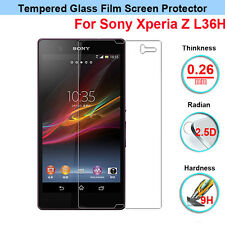 Premium Tempered Glass Film Screen Guard Protector for Sony Xperia Z L36H C6603