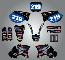 Yamaha YZF 250 2003 - 2005 full custom graphics kit BARBED style stickers/decals