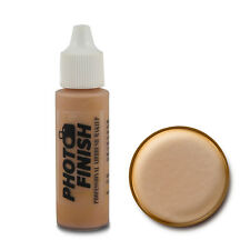 PHOTO FINISH AIRBRUSH MAKEUP,FOUNDATION .5 oz Face Fairly Medium Luminous