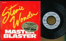 """STEVIE WONDER 45T 7"""" FRANCE MASTER BLASTER"""