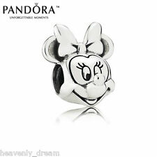 New Genuine Pandora Silver Disney Minnie Portrait Charm 791587