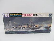 MES-44694 Aoshima 01506 1:700 Yukikaze Bausatz geöffnet,augenscheinlich komplett
