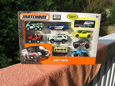 2015 Matchbox 9 Vehicle Die-cast 1:64 Scale Gift Set~New & Sealed!