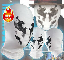 Watchman Rorschach Moving Inkblot Mask Balaclava Cosplay Costume Full Face Mask