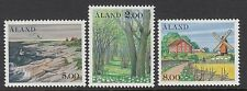 ALAND : 1985 Aland Scenes set   SG17-19 never-hinged mint