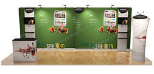 "Trade show A7 Display booth package 20ft (TV stand (32"" LCD), Display shelves)"