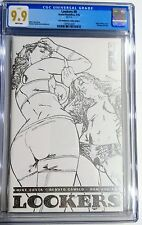 Lookers #0 Platinum White Leather Variant Cover Graded CGC 9.9 Boundless Ltd /33