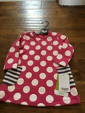 Gorgeous Mamas and Papas girls spotty long sleeved dress size 12-18 months BNWT