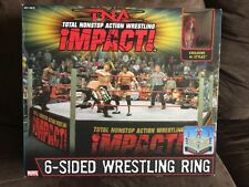 TNA Wrestling Six-Sided Ring (with AJ Styles figure)