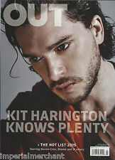 Out gay magazine Kit Harrington Chris Darren Criss Jane Fonda and Lily Tomlin