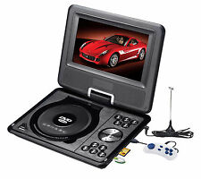 "7"" Portable Rotatable DVD Player MP5 Player with Game/FM/TV/USB/SD Play Function"