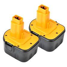 2x 12v Volt Battery for Dewalt 152250-27 397745-01 DE9071 DE9074 DE9075
