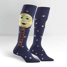 Sock It To Me Women's Knee High Socks - Man on the Moon