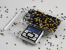 Portable 500g x .01g Digital Scale Jewelry Pocket Gram OZ. LCD Herb Gold Silver