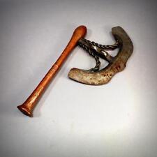 Outstanding Antique African Songe Nzappa Zap Prestige Axe Not Sword