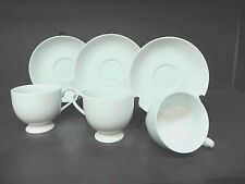 MIkasa Classic Flair White # K1991 (Set of 3) Cups & Saucers
