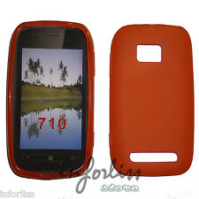 Carcasa Funda gel Nokia Lumia 710 Roja red case