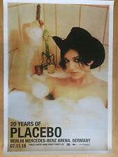 Placebo 13 Berlin 2016-ORIG. CONCERT POSTER -- manifesto concerto a1 NUOVO