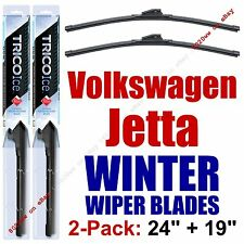 2005-2016 VW Volkswagen Jetta WINTER Wipers 2-Pk Winter Beam Blades 35240/35190