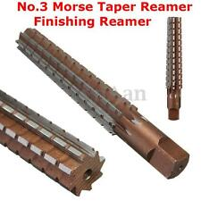 MT3 No.3 Morse Taper Reamer Finishing Reamer Alloy Steel Lathe Milling Tool
