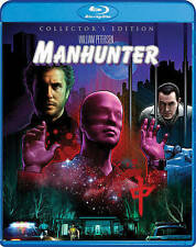 Manhunter Collector's Edition (Blu-ray) BRAND NEW 2016 Shout! Factory 2 Discs