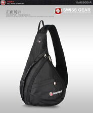 SwissGear 96black Cross body sling bag Shoulder Bag/outdoor Backpack/Pouch bag
