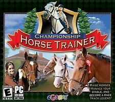 CHAMPIONSHIP HORSE TRAINER (2007) PC CD-ROM NEW & FACTORY SEALED