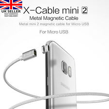 WSKEN Metal Magnetic X-cable Micro-USB Charger Charging Cable 4 Samsung, Sony