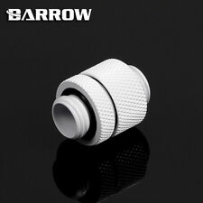 "Barrow  G1/4"" White 15mm D-Plug Dual Male Coupler Set -309"