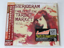 STERIOGRAM This Is Not The Target Market+4 TOCP-66651 JAPAN CD w/OBI 026a59