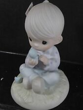 Precious Moments I BELIEVE IN MIRACLES Bird Hatching #E7156 MIB