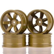 4pcs 1:10 RC Model car wheel rims 6-spoke Offset 6mm Racing spare HPI HSP 705