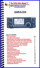Icom IC-7410 Nifty Quick Reference Guide, IC7410