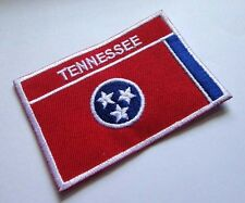 TENNESSEE STATE OF USA UNITED STATES FLAG Sew on Patch Free Shipping