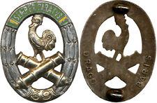 39° Régiment d'Artillerie, dos lisse plat argenté,Drago (321)(7143)