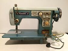 VINTAGE VISETTI SUPER DE LUXE ZIG ZAG SEWING MACHINE (AS ADVERTISED IN LIFE)