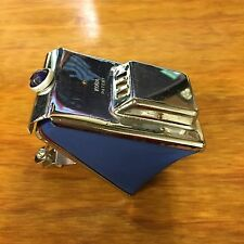 BLUE ACCORDION BICYCLE HORN VINTAGE SUPER RARE ITEM FIT SCHWINN ELGIN OTHERS