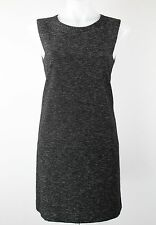 NWT $295 Theory 'Cambree' Gray Sleeveless Shift Dress - Size 8