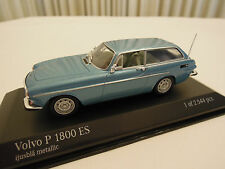 Minichamps Volvo P 1800 ES Ice Blue 1/43 Scale New in Box Ships From USA