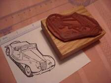 MG TF Classic Car Rubber Stamp  1953 1954 1955 Beautiful lines!!!