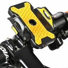 Letdooo Cycling Bicycle Smartphone Bracket Phone Holder Black Yellow Plus Size