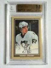 05-06 UD Beehive SIDNEY CROSBY Rookie RC Beige BGS 9.5 Pop only 26 Penguins