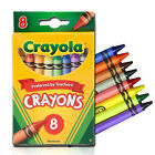 Crayola Crayons, Classic Colors, Nontoxic, 8/Pack (52-3008)