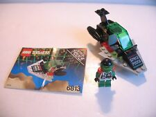 100% Complete Vintage Lego Playset 6813 Space Police Galactic Chief Instructions