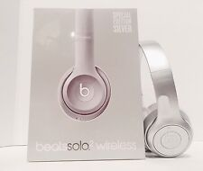 Beats by Dr. Dre Solo 2 Wireless Headband Headphones *SEALED* Fast Ship - SILVER
