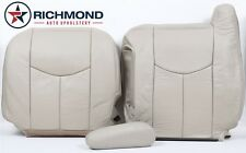 2005 Chevy Tahoe LT z71-Driver Side Complete Replacement Leather Seat Covers TAN